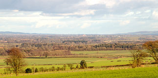 The Vale of York looking east towards Scarborough Royalty Free Stock Images