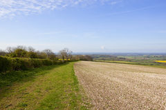 Vale of york in springtime Stock Photography