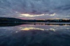 Valea Morilor sjö Royaltyfri Bild
