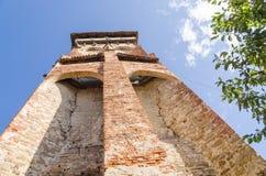 Valea Viilor被加强的教会 免版税图库摄影