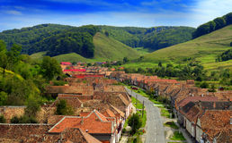 Valea Viilor in Transylvania Royalty Free Stock Photo