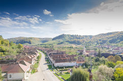 Free Valea Viilor Village Stock Image - 61424171