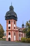 Valec (Karlovy变化地区),捷克共和国 免版税库存照片