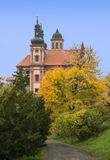 Valec (Karlovy变化地区),捷克共和国 库存照片
