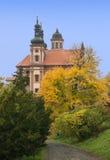 Valec (Karlovy varia o distrito), república checa Fotos de Stock