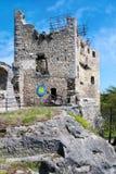 Valecov slott, bohemiskt paradis, Tjeckien, Europa Arkivbild