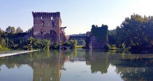 Valeggio sul Mincio. Vista di Borghetto royalty free stock image