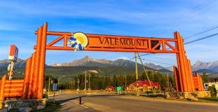 Valemount, Π.Χ., Καναδάς Στοκ Εικόνα