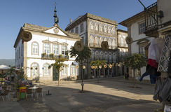 Valença doet de Minho Royalty-vrije Stock Foto's