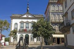 Valença do Minho. Portugal. Street in the fortress city Valença do Minho. Portugal Stock Photos
