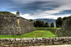 Valenca fortress Royalty Free Stock Photo