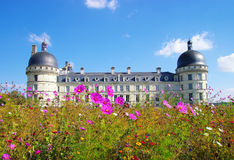 Valencay castle Royalty Free Stock Image