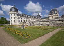 Valencay castle Stock Images