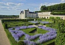Valencay castle and park royalty free stock photo
