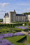 Valencay castle and park Royalty Free Stock Photography