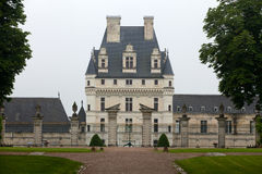 Valencay castle in the valley of Loire Royalty Free Stock Photo