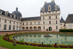 Valencay castle in the valley of Loire Royalty Free Stock Photography