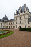 Valencay castle in the valley of Loire, Royalty Free Stock Images