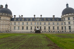 Valencay castle in the valley of Loire, Royalty Free Stock Photos