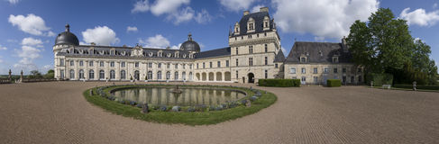 Valencay Schloss Stockfotografie