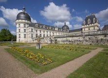 Valencay Schloss Stockbilder