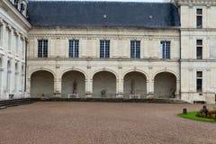 Valencaykasteel in de vallei van de Loire, stock afbeelding