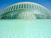 Valence, Espagne - août 2009 : Arts et musée de la Science par Calatrava Photographie stock libre de droits