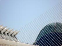 Valence, Espagne - août 2009 : Arts et musée de la Science par Calatrava Images stock