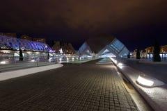 VALENCE, ESPAGNE - 23 DÉCEMBRE 2010 : Vue d'architectu de Valence Image libre de droits