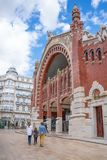 Valence et ses architectures antiques et ultramodernes image stock