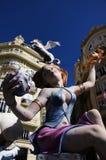 Fallas Valence Santa Clara 2013 Image stock
