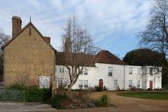 Valence House & parkerar royaltyfria foton