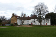 Valence House y parque Fotos de archivo