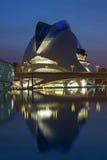 Valence - ville des arts et des sciences - l'Espagne Photographie stock
