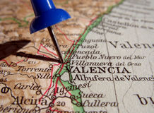 Valencia. The way we looked at Valencia in 1949 Stock Image