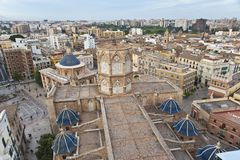 Valencia from above. Stock Image