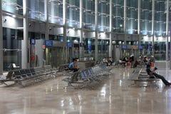 Valencia airport Royalty Free Stock Image