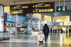 Valencia Airport Photos libres de droits