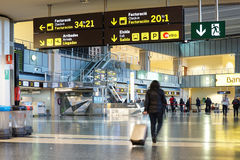 Valencia Airport Royalty Free Stock Photos