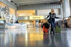 Valencia Airport Stock Image