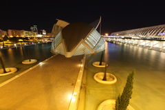 Valencia architectural complex City of Arts and Sciences Royalty Free Stock Photography