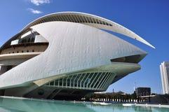Valencia. Architecture in Valencia is impressive Royalty Free Stock Image