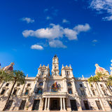 Valencia Ayuntamiento city town hall building Spain Stock Images