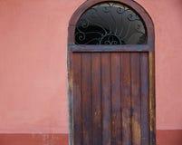 Valencia Barrio del Carmen door old town spain Royalty Free Stock Photo