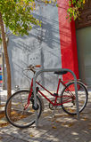 Valencia Barrio del Carmen street bicycle Spain Royalty Free Stock Photos