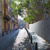 Valencia Barrio del Carmen street old town Spain Royalty Free Stock Image