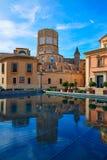 Valencia Basilica Desamparados and Cathedral Royalty Free Stock Images
