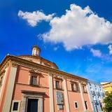 Valencia Basilica Desamparados church in Almoina Royalty Free Stock Photography