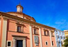 Valencia Basilica Desamparados church in Almoina Stock Photography