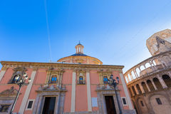 Valencia Basilica Desamparados church in Spain Royalty Free Stock Image